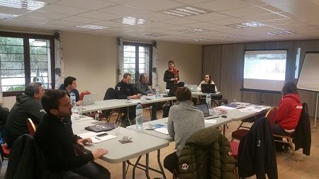 Les directeurs d'EFV réunis à Font Romeu