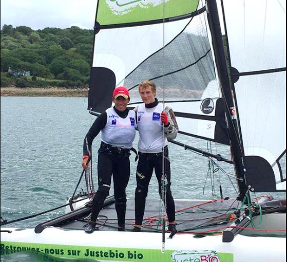 Andres et Hippolyte champions de France
