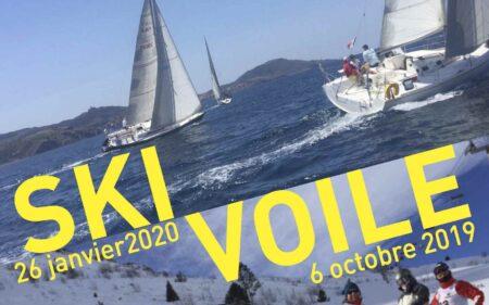 Le Yacht Club Argelès Racou organise l'évènement Ski-Voile