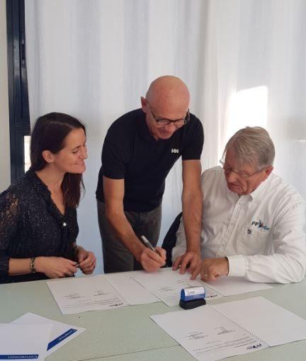 Signature d'une convention avec la Commission Habitable