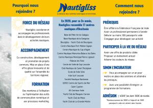 Verso flyer Nautigliss 2020
