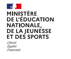 Communiqué de presse du Ministère des sports