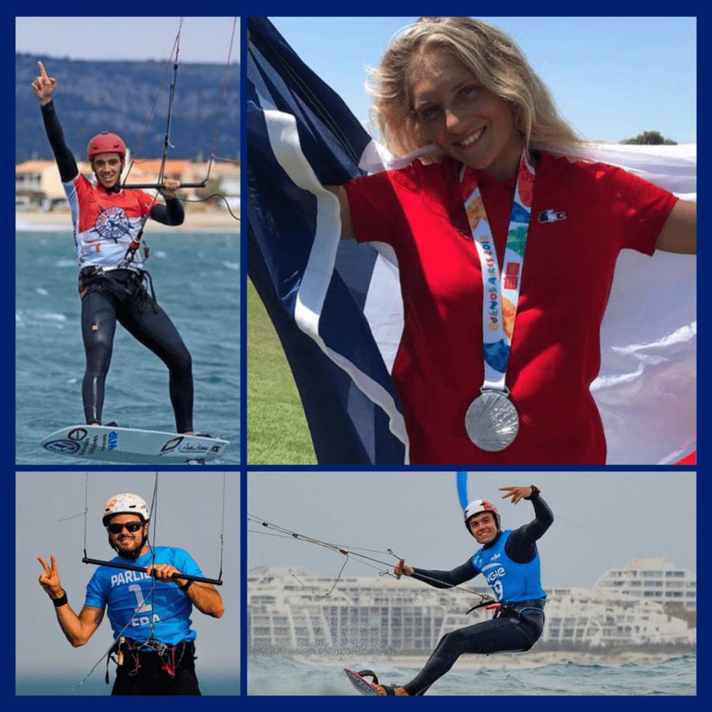 Le kitefoil aura deux médailles aux Jeux Olympiques de Paris 2024
