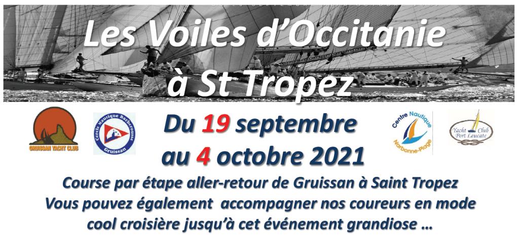 Voiles d'Occitanie à Saint Tropez 2021
